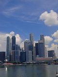 Singapore Financial District Stock Photography