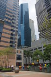 Singapore financial district Stock Image