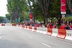 Singapore firar den nationella dagen SG50 Arkivbild