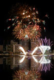 Singapore Fireworks Stock Photos
