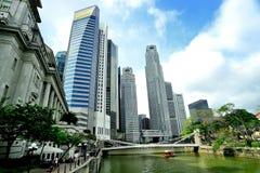 Singapore flod Arkivfoton