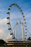 Singapore Flyer. The largest ferris wheel in the world Royalty Free Stock Photography