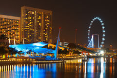 Singapore flyer Stock Image