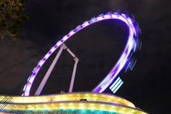 Singapore ferris wheel stock photo