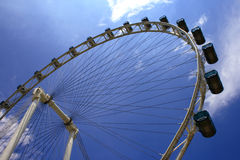 The Singapore Flyer. Giant wheel, the world biggest Marry Go Round located in Singapore Royalty Free Stock Image