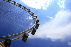 The Singapore Flyer. Giant wheel, the world biggest Marry Go Round located in Singapore Royalty Free Stock Photos