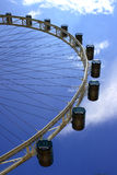 The Singapore Flyer. Giant wheel, the world biggest Marry Go Round located in Singapore Stock Photos