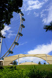 The Singapore Flyer. Giant wheel, the world biggest Marry Go Round located in Singapore Stock Photo