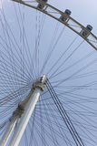 Singapore Flyer April 01, 2012: Close up of the Singapore flyer. Stock Photo