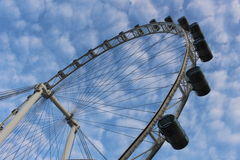 Singapore flyer. The best place in Singapore Royalty Free Stock Image