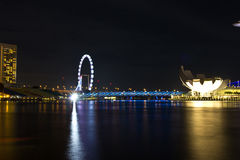 Singapore flyer3 Royalty Free Stock Photos