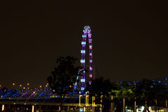 Singapore flyer4 Stock Photography