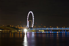 Singapore flyer2 Stock Photo