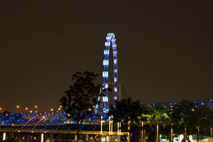 Singapore flyer5 Royalty Free Stock Photo