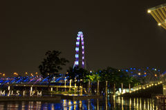 Singapore flyer6 Royalty Free Stock Image