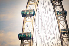 Singapore Flyer is famous landmark Royalty Free Stock Photos