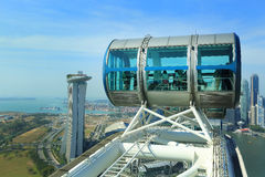 Singapore Flyer Stock Photography