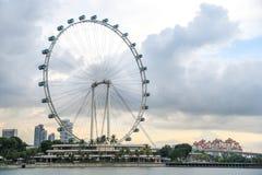 Singapore Flyer, the giant ferris wheel, Singapore Stock Photography