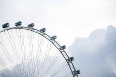 Singapore Flyer, the giant ferris wheel, Singapore Royalty Free Stock Photography