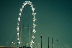 Singapore Flyer - the Largest Ferris Wheel in the World. Stock Images