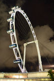 Singapore Flyer at night Royalty Free Stock Image