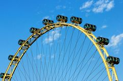 Singapore flyer - observation wheel Stock Image