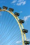 Singapore flyer - observation wheel Royalty Free Stock Photo