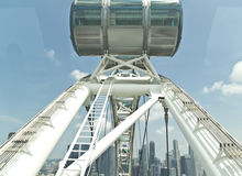 Singapore Flyer's Capsule Royalty Free Stock Images