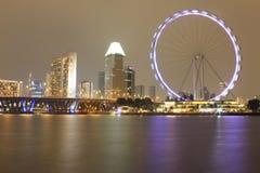 Singapore Flyer. Singapore travel marina bay royalty free stock photography