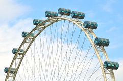 Singapore flyer - world largest Royalty Free Stock Images