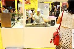 Singapore : Food store at Takashimaya B2 Stock Images