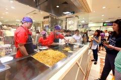 Singapore : Food store at Takashimaya B2 Stock Photos