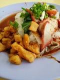 Singapore Food Stock Photo