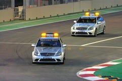Singapore Formula 1 Medical Cars Royalty Free Stock Photos