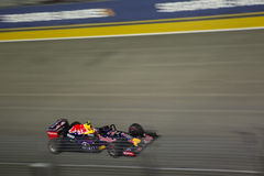 Singapore Formula 1 main raceday Royalty Free Stock Images
