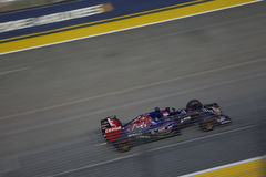 Singapore Formula 1 Qualifying Race Stock Photo