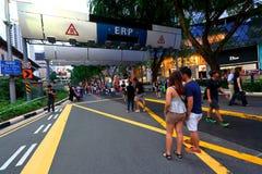 Singapore: Fruktträdgårdväg Royaltyfri Fotografi