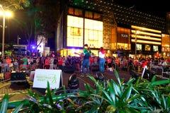 Singapore: Fruktträdgårdväg Arkivbild