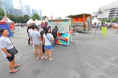 Singapore: Fun fair in the city Stock Photos