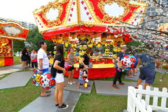 Singapore: Fun fair in the city Stock Image