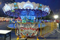 Singapore: Fun fair in the city Stock Images