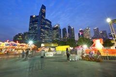 Singapore: Fun fair in the city Royalty Free Stock Photos