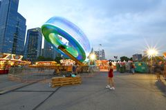 Singapore: Fun fair in the city Stock Photo