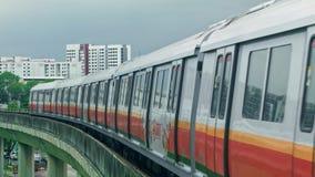 Singapore gångtunneldrev lager videofilmer