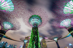 Singapore Gardens by the Bay Stock Photos