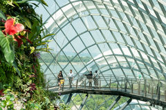 Singapore, Gardens by Bay. Stock Photos