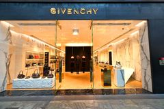 Singapore: Givenchy Royaltyfria Foton