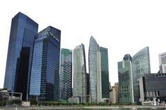 Singapore ha isolato l'orizzonte Fotografia Stock Libera da Diritti