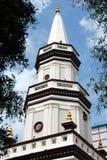 Singapore: Hajjah Fatimah Mosque Steeple Stock Images