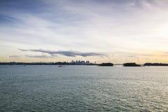 Singapore Harbourfront Arkivbilder